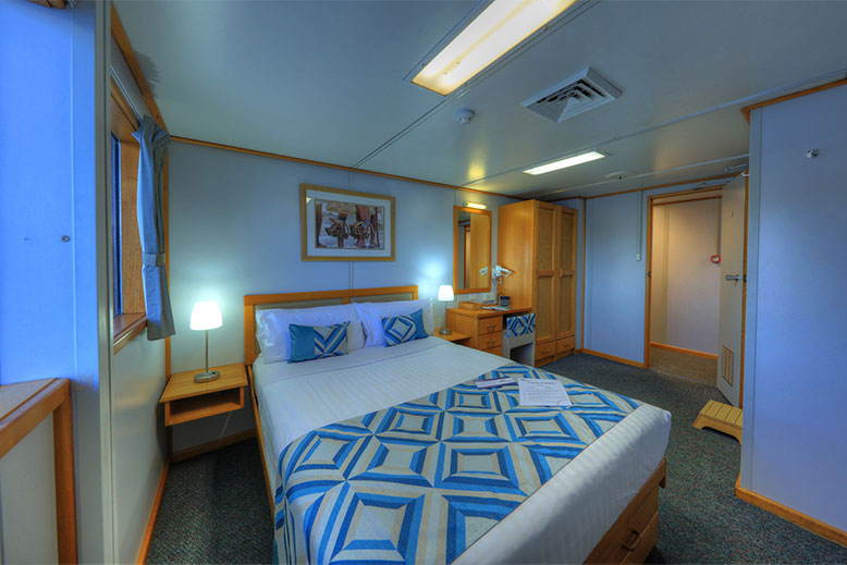 Coral Expeditions I stateroom