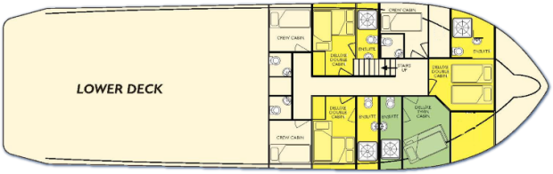 Kimberley Quest II Lower Deck