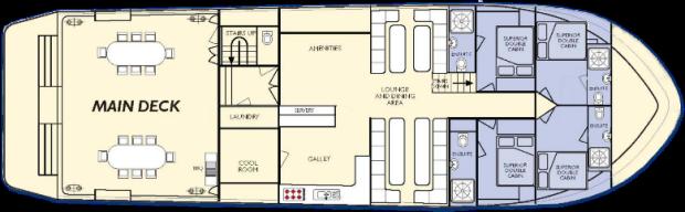 Kimberley Quest II Main Deck