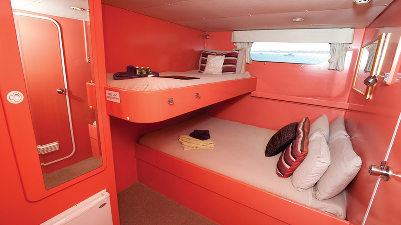 Kimberley Quest twin cabin