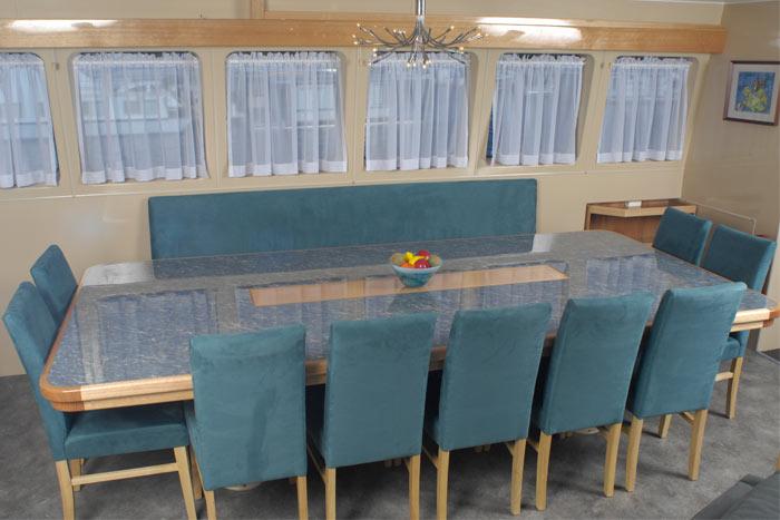 Lady M dining area