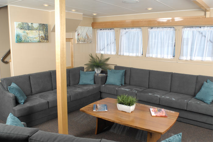 Lady M lounge area
