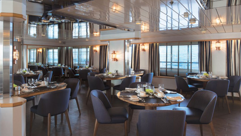 Silversea dining