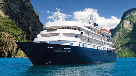 APT – 10 Nights aboard the MS Caledonian Sky