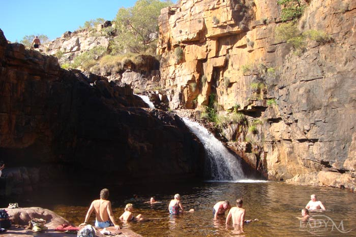 Ruby Falls Swimming