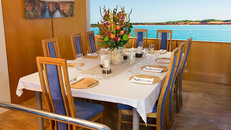 Great Escapes dining