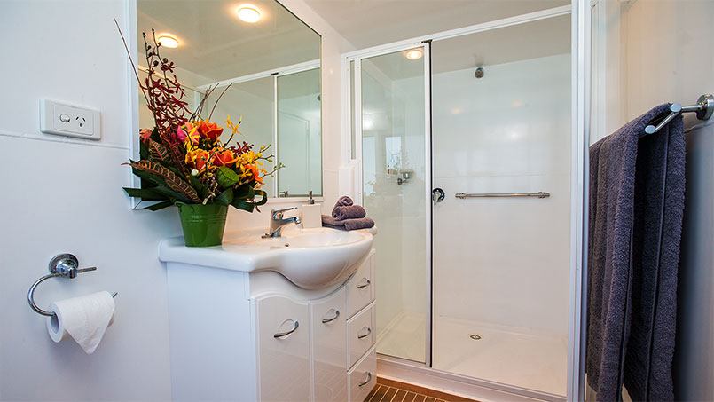 Great Escapes panormaic stateroom ensuite
