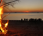 True North campfire