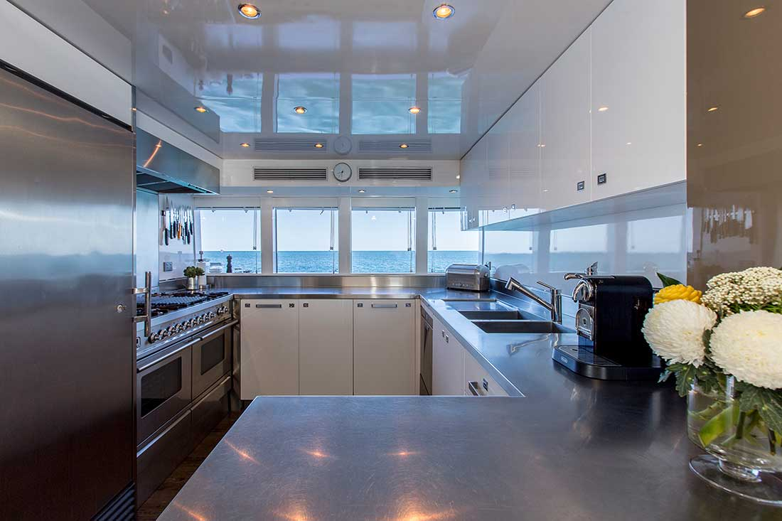 Ocean Dream galley