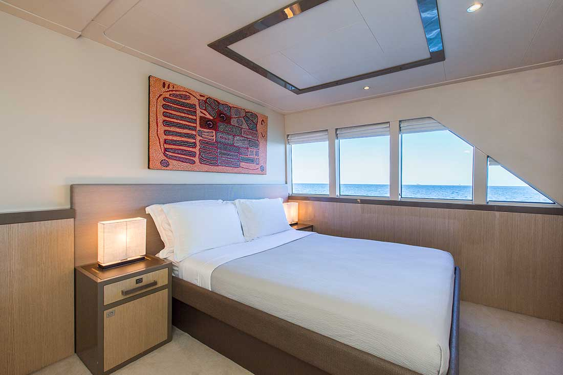 Ocean Dream master cabin