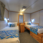 Coral Expeditions I cabin