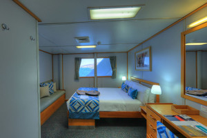 Coral Expeditions I deluxe stateroom
