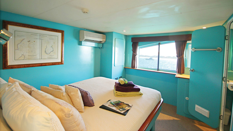 Kimberley Quest flybridge cabin