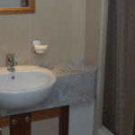 Lady M ensuite to cabin