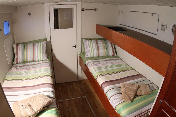 Odyssey classic twin share cabin