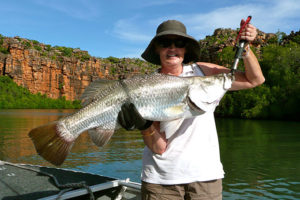 True North wilderness cruise barramundi