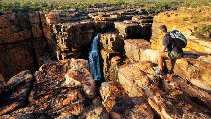 Kimberley Quest waterfalls