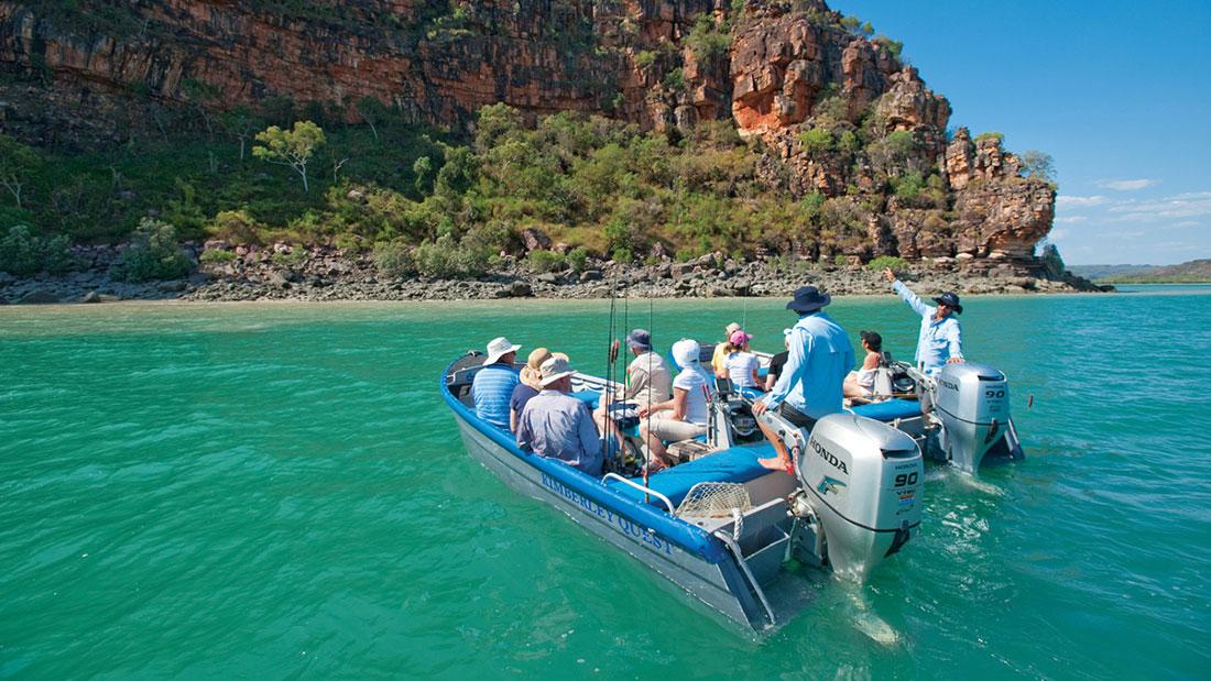 Kimberley Quest fishing boats