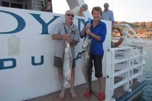 Fishing aboard the Lady M