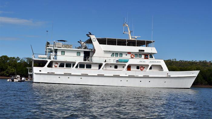 Eco Abrolhos ship