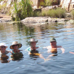 Eco Abrolhos swimming