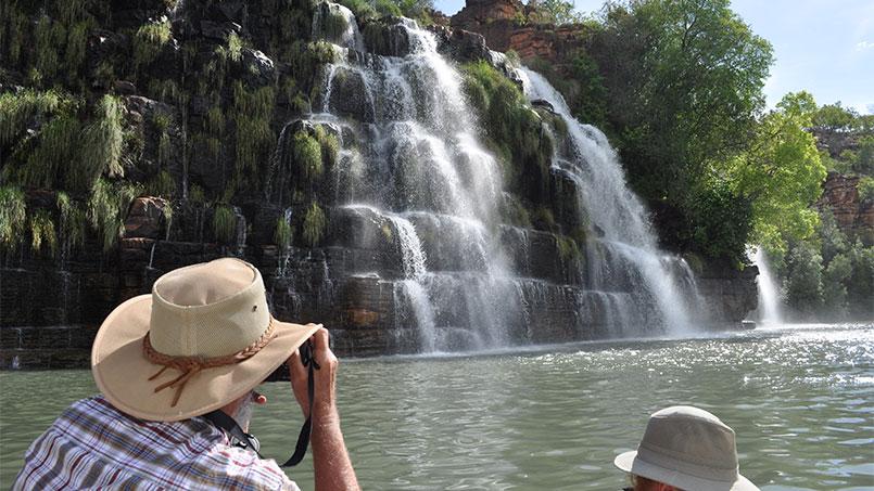 Kimberley waterall