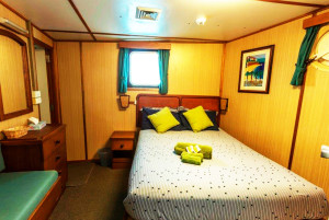 Eco Abrolhos standard double cabin