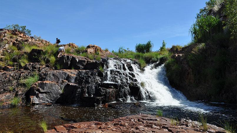 Eco Abrolhos waterfall