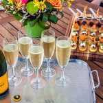 Great Escapes canapes and veuve