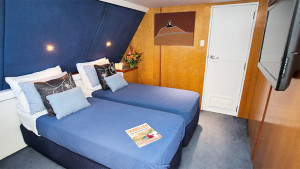 Great Escape panoramic view stateroom twin