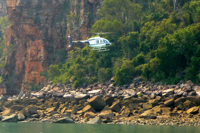 Helicopter flights with Odyssey Expeditions