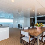 Ocean Dream aft deck dining