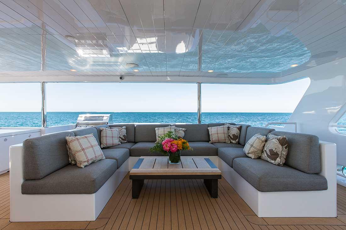 Ocean Dream aft deck lounge