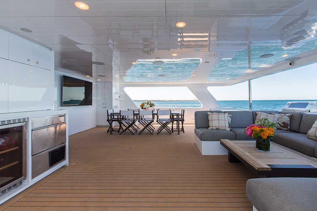 Ocean Dream aft deck port