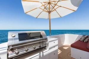 Ocean Dream BBQ area