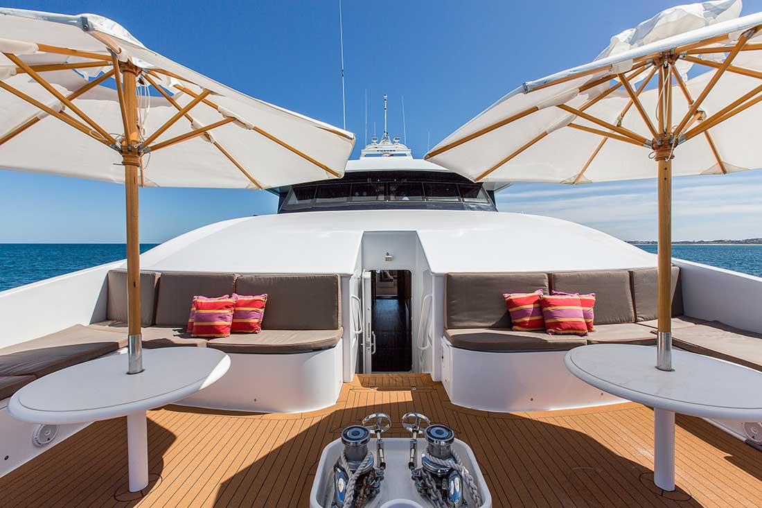 Ocean Dream fore deck