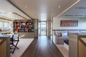 Ocean Dream main deck passage aft
