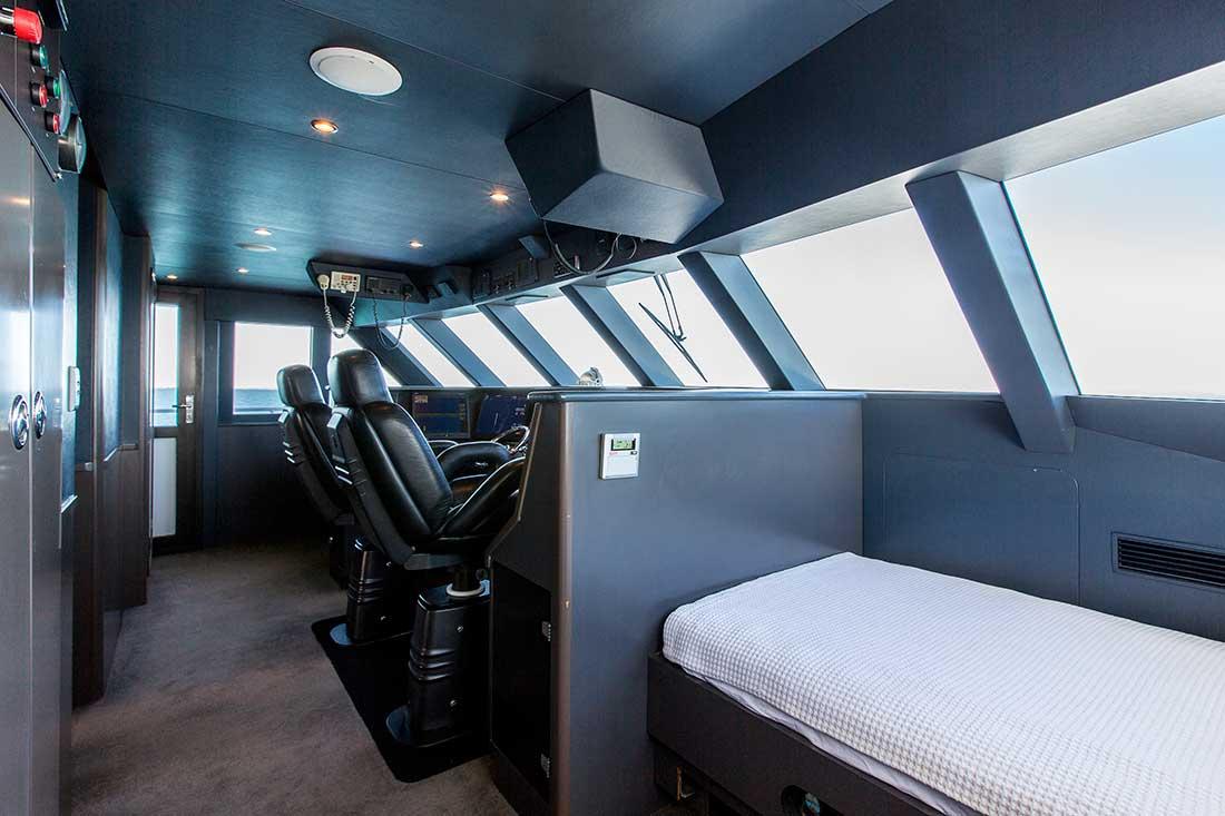 Ocean Dream wheel house