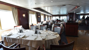 Silver explorer dining room